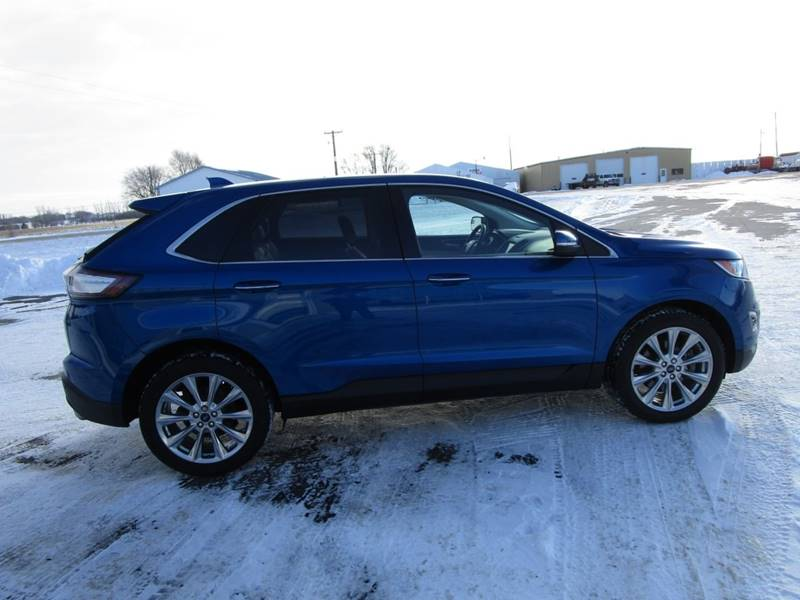 ford edge awd titanium dr crossover  sibley ia jeddeloh ford