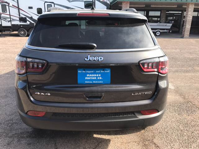 2017 Jeep New Compass 4x4 Limited 4dr SUV - Sidney NE