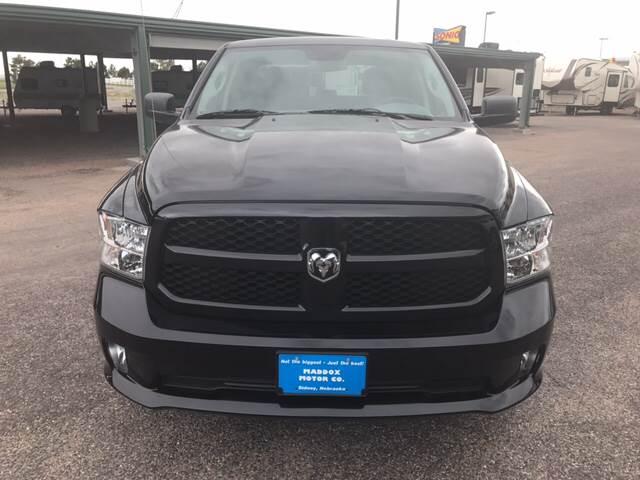 2015 RAM Ram Pickup 1500 4x4 Express 4dr Crew Cab 5.5 ft. SB Pickup - Sidney NE