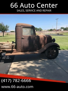 1934 Chevrolet C/K 10 Series for sale at 66 Auto Center in Joplin MO