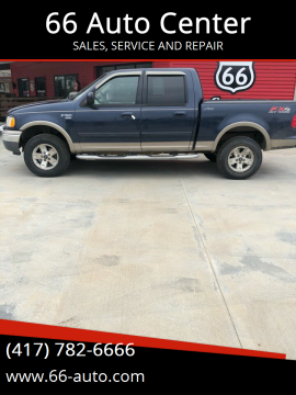 2003 Ford F-150 for sale at 66 Auto Center in Joplin MO