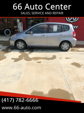 2008 Honda Fit for sale at 66 Auto Center in Joplin MO