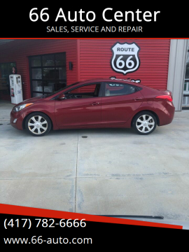 2011 Hyundai Elantra for sale at 66 Auto Center in Joplin MO