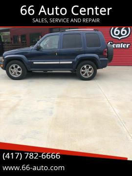 2007 Jeep Liberty for sale at 66 Auto Center in Joplin MO