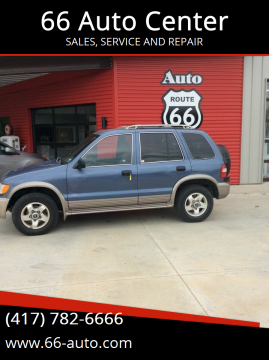 2002 Kia Sportage for sale at 66 Auto Center in Joplin MO