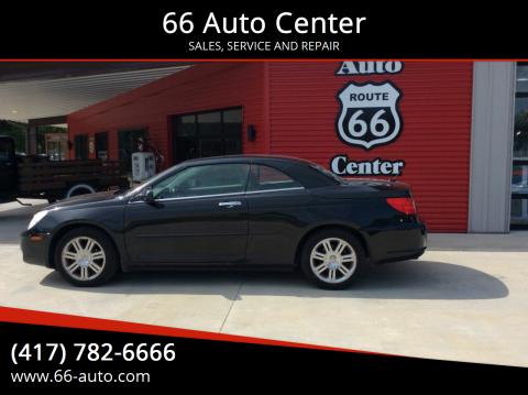2008 Chrysler Sebring for sale at 66 Auto Center in Joplin MO