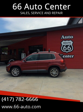 2013 Volkswagen Tiguan for sale at 66 Auto Center in Joplin MO