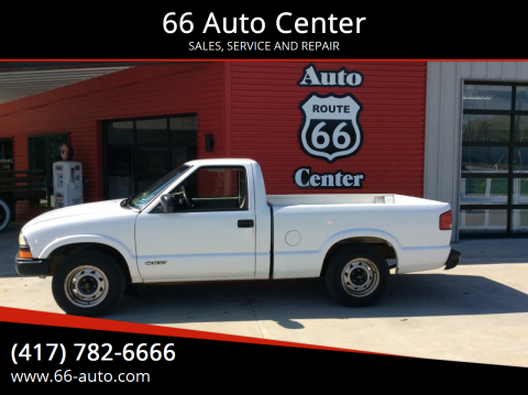 2002 Chevrolet S-10 for sale at 66 Auto Center in Joplin MO
