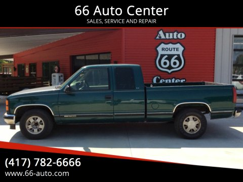 1997 GMC Sierra 1500 for sale at 66 Auto Center in Joplin MO