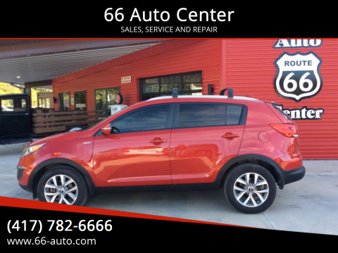 2015 Kia Sportage for sale at 66 Auto Center in Joplin MO