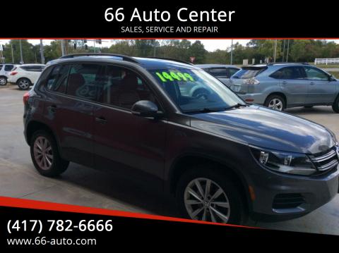 2015 Volkswagen Tiguan for sale at 66 Auto Center in Joplin MO