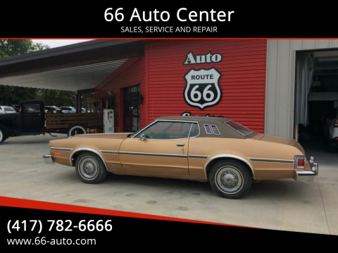 1975 Ford Elite for sale at 66 Auto Center in Joplin MO