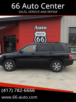 2004 Toyota Highlander for sale at 66 Auto Center in Joplin MO
