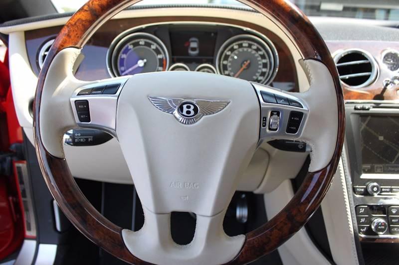 2012 Bentley Continental GT AWD 2dr Coupe - Sarasota FL