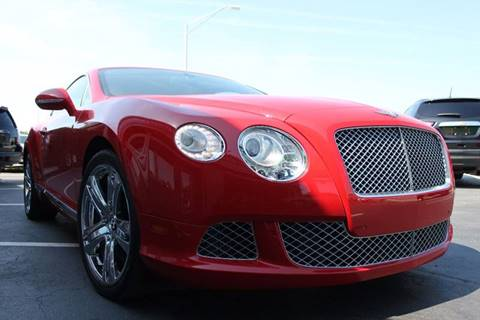 2012 Bentley Continental GT for sale in Sarasota, FL