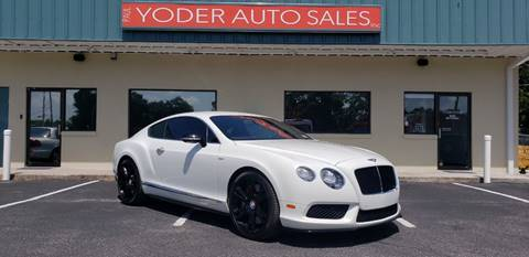 2014 Bentley Continental for sale in Sarasota, FL
