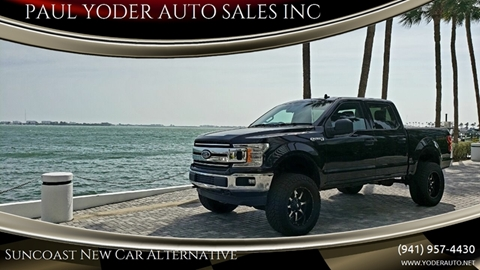 2019 Ford F-150 XL for sale at PAUL YODER AUTO SALES INC in Sarasota FL