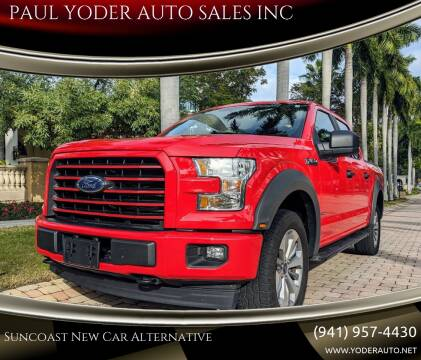 2017 Ford F-150 XL for sale at PAUL YODER AUTO SALES INC in Sarasota FL
