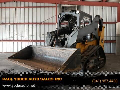 2017 John Deere skidsteer 317G for sale at PAUL YODER AUTO SALES INC in Sarasota FL