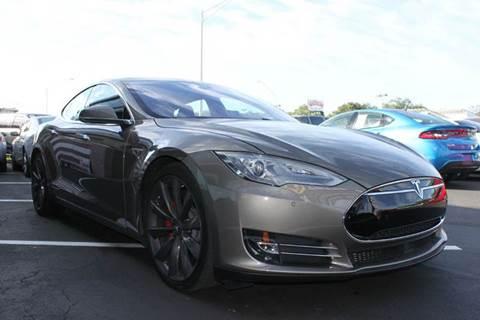2016 Tesla Model S for sale at PAUL YODER AUTO SALES INC in Sarasota FL