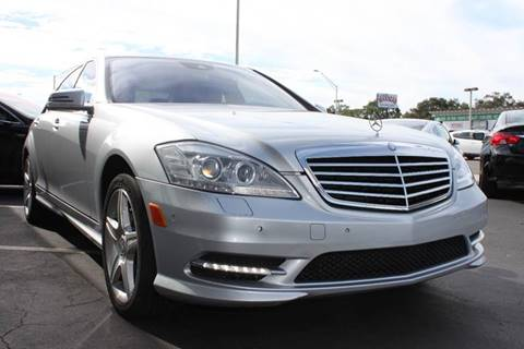 2010 Mercedes-Benz S-Class for sale at PAUL YODER AUTO SALES INC in Sarasota FL