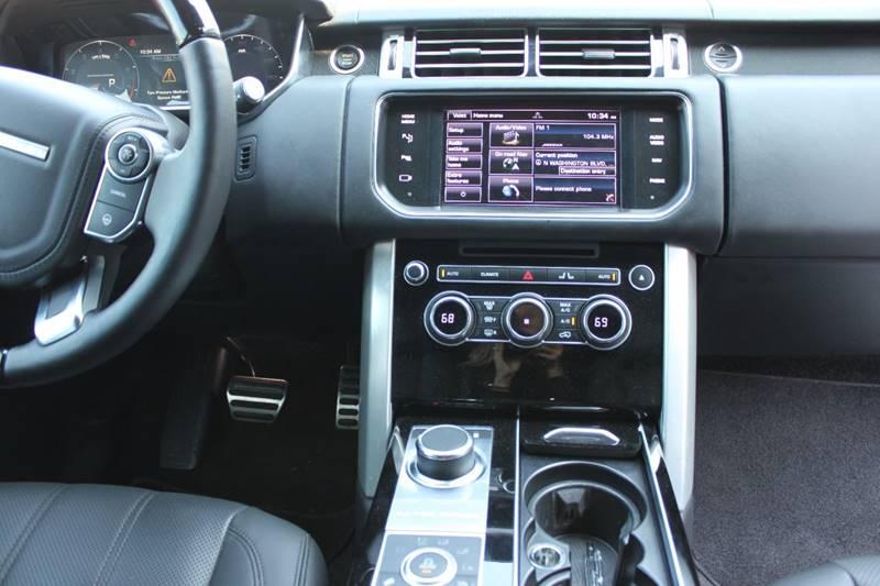 2014 Land Rover Range Rover 4x4 Supercharged Ebony Edition 4dr SUV - Sarasota FL