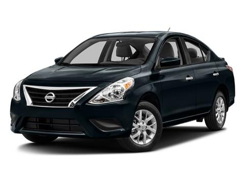 2016 Nissan Versa for sale in Visalia CA