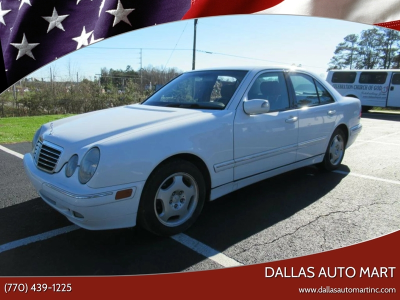 2000 Mercedes Benz E Class For Sale At Dallas Auto Mart In Dallas GA