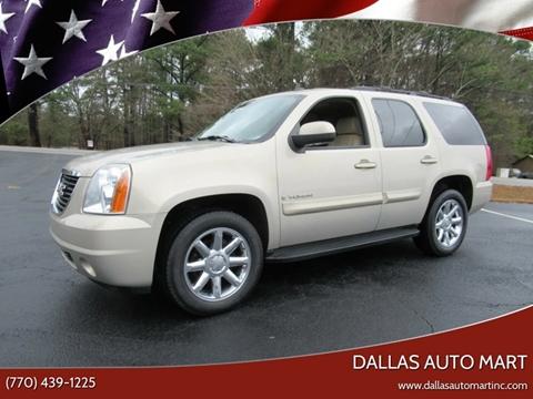 2008 GMC Yukon for sale in Dallas, GA