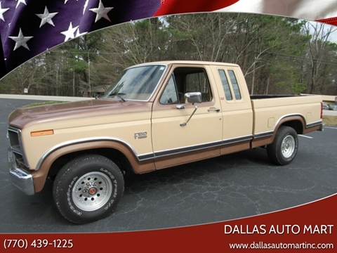 1986 Ford F-150 for sale in Dallas, GA