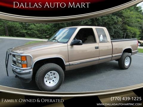 Chevrolet C K 1500 Series For Sale In Dallas Ga Dallas