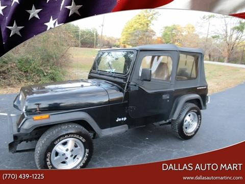 1995 Jeep Wrangler for sale in Dallas, GA