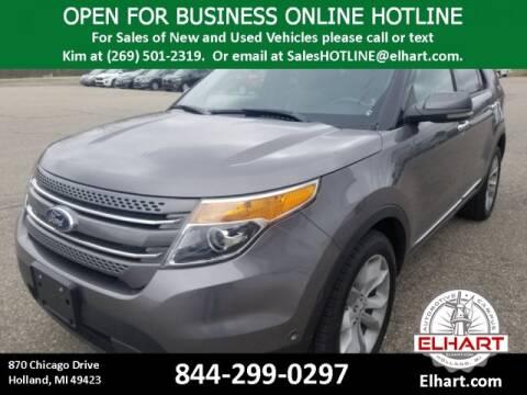 2013 Ford Explorer Limited for sale at Elhart in Holland MI