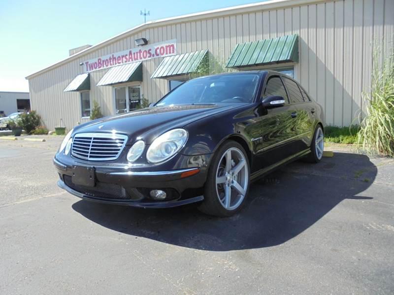 2003 Mercedes-Benz E-Class for sale at D & P Sales LLC in Wichita KS
