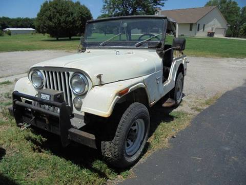 1973 Jeep CJ-5 for sale in Wichita, KS