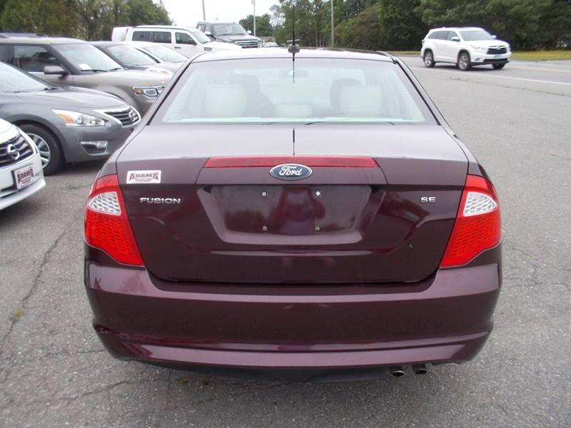 2011 Ford Fusion SE 4dr Sedan - Hermon ME