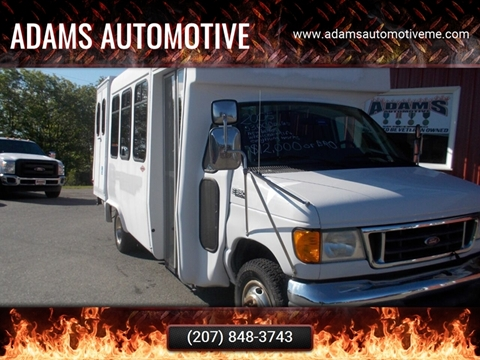 2005 Ford E-Series Chassis for sale in Hermon, ME