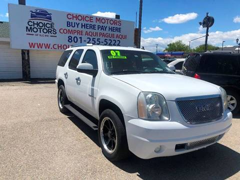 2007 GMC Yukon for sale in Midvale, UT