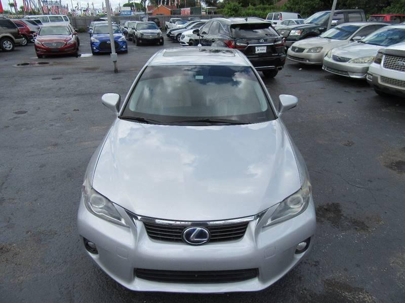 2012 Lexus CT 200h Premium 4dr Hatchback - Miami FL