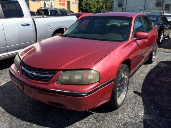 2002 Chevrolet Impala 4dr Sedan - Miami FL