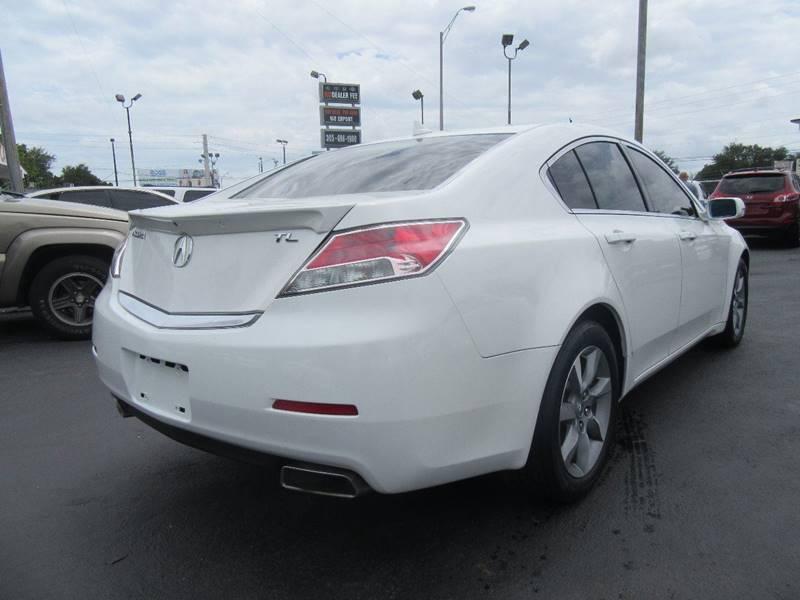 2012 Acura TL 4dr Sedan w/Technology Package - Miami FL