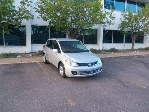 2012 Nissan Versa for sale at QUEST MOTORS in Englewood CO