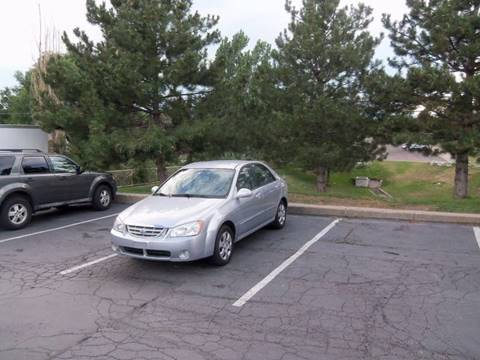 2006 Kia Spectra for sale at QUEST MOTORS in Englewood CO