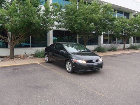 2007 Honda Civic for sale at QUEST MOTORS in Englewood CO