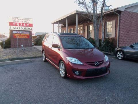 2010 Mazda MAZDA5 for sale at QUEST MOTORS in Englewood CO