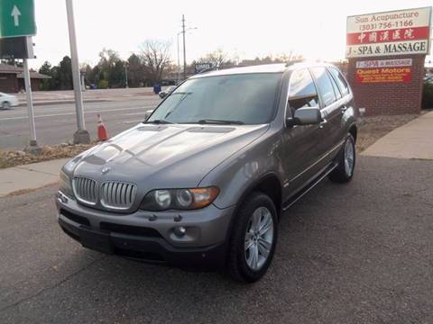 2006 BMW X5 for sale at QUEST MOTORS in Englewood CO