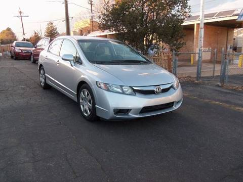 2011 Honda Civic for sale at QUEST MOTORS in Englewood CO