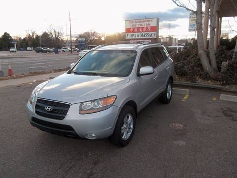 2007 Hyundai Santa Fe for sale at QUEST MOTORS in Englewood CO