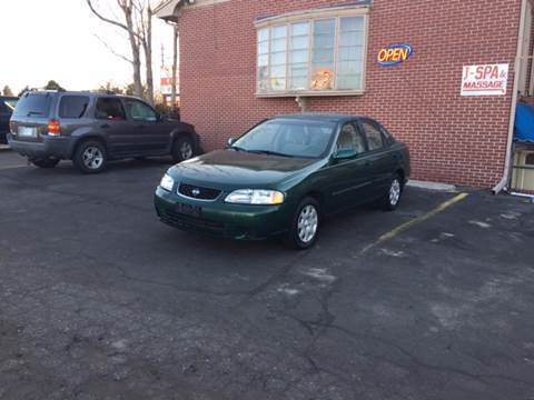 2002 Nissan Sentra for sale at QUEST MOTORS in Englewood CO