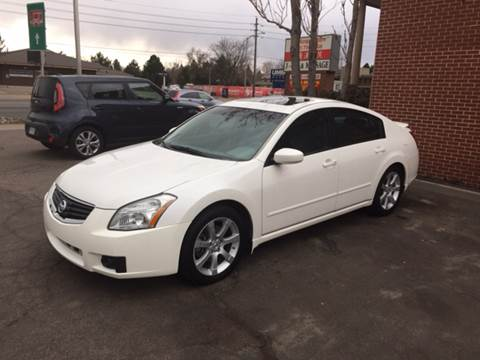 2007 Nissan Maxima for sale at QUEST MOTORS in Englewood CO
